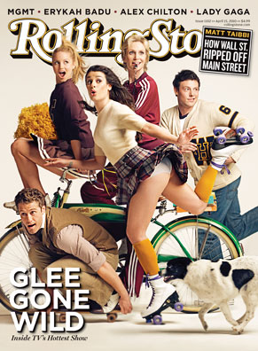 """Rolling Stone """"Glee"""" Cover"""